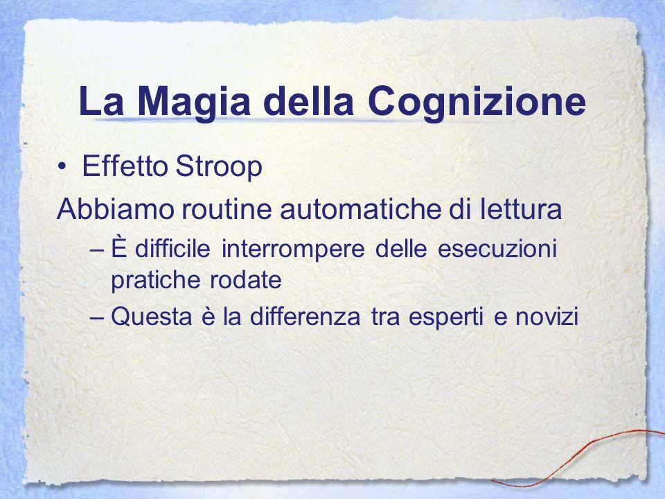 La Magia della Cognizione