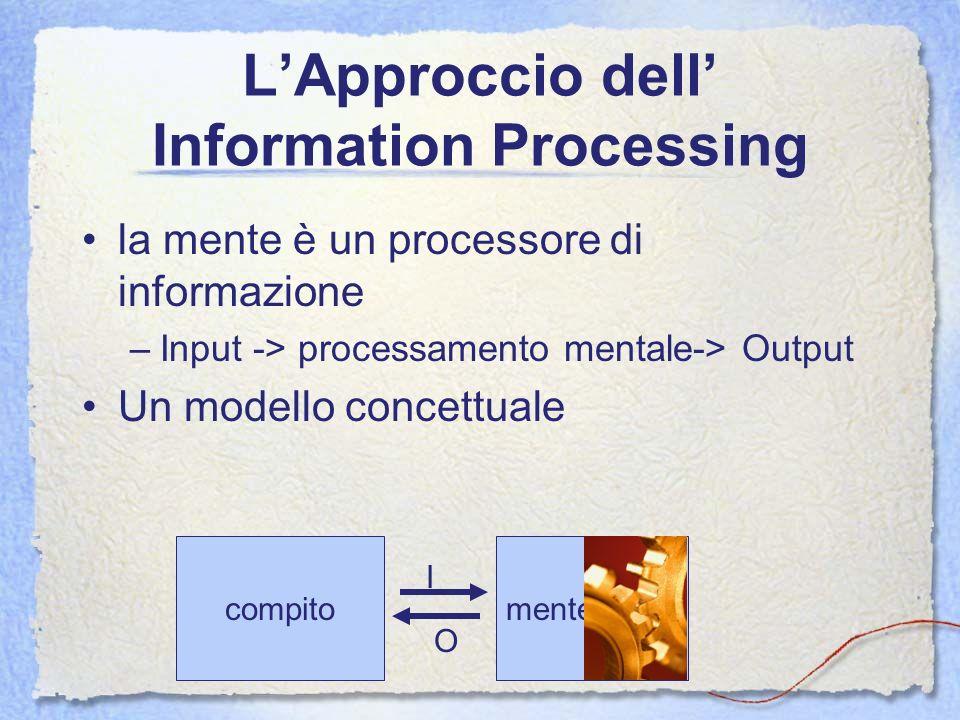 L'Approccio dell' Information Processing