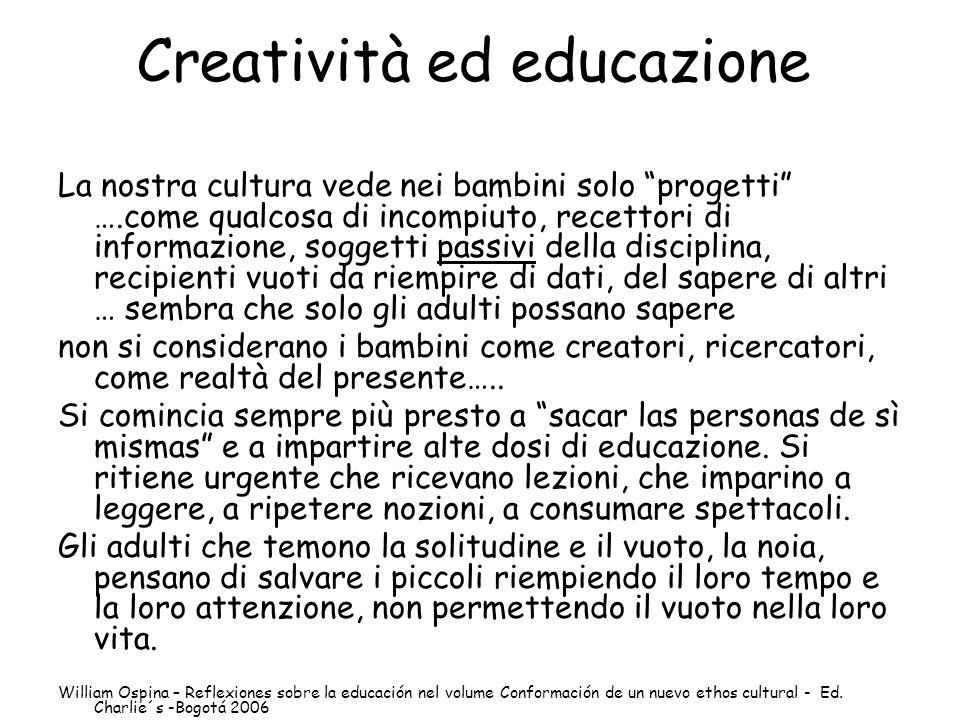 Creatività ed educazione