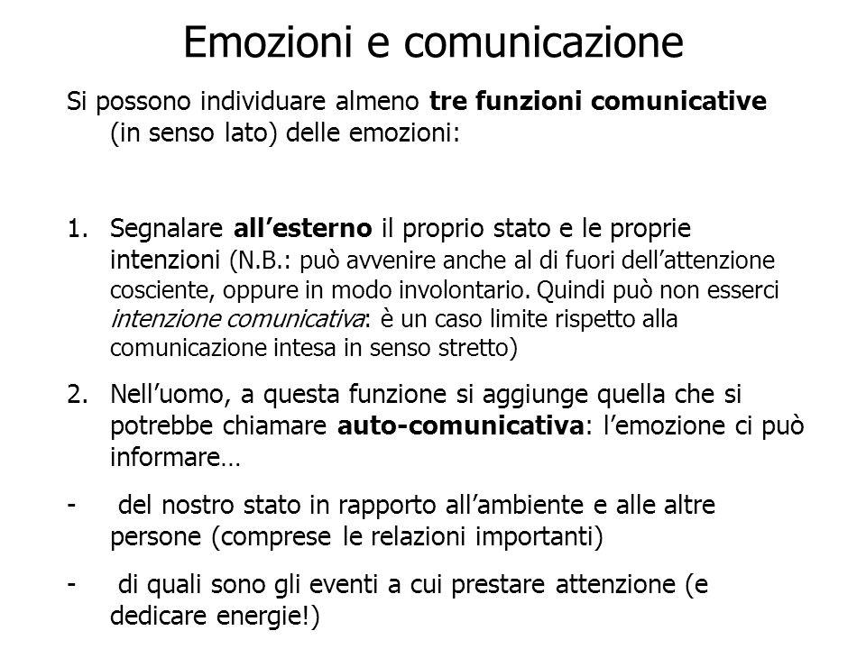 Emozioni e comunicazione