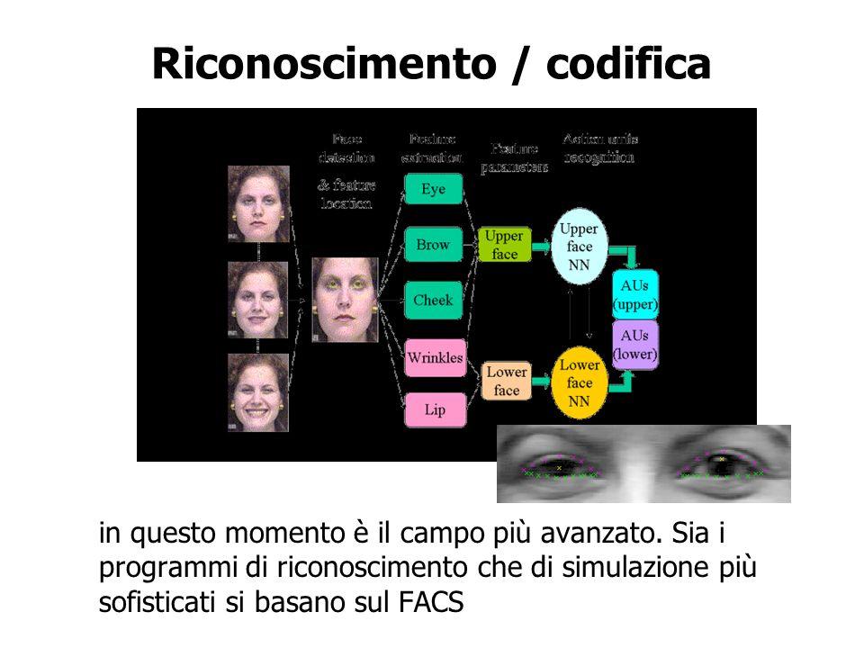 Riconoscimento / codifica