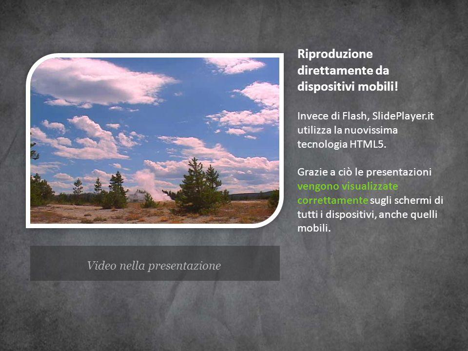 Video nella presentazione