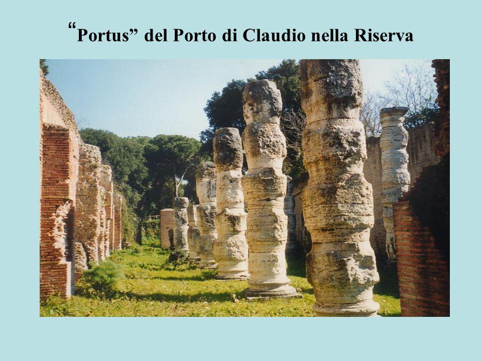 Portus del Porto di Claudio nella Riserva