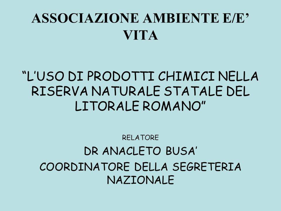 ASSOCIAZIONE AMBIENTE E/E' VITA