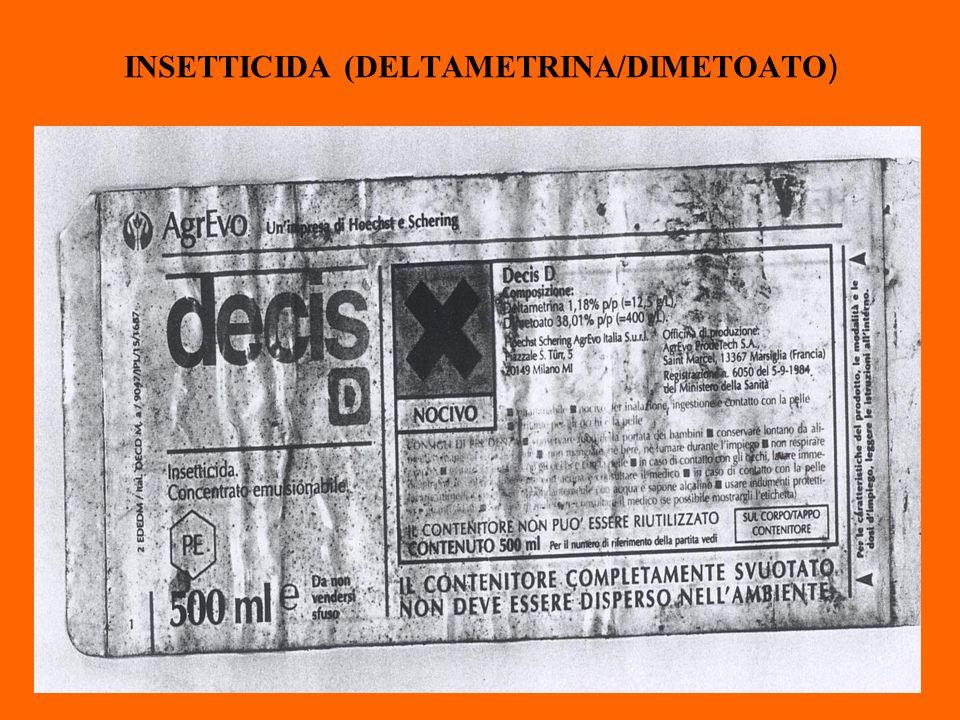 INSETTICIDA (DELTAMETRINA/DIMETOATO)