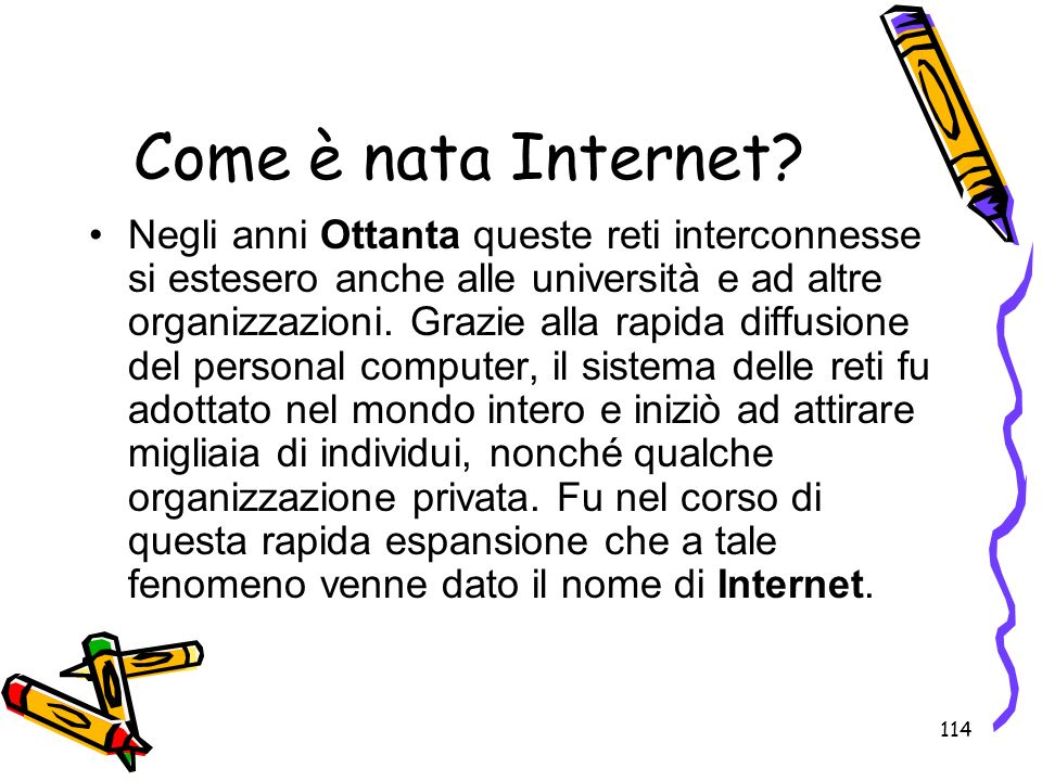 Come è nata Internet