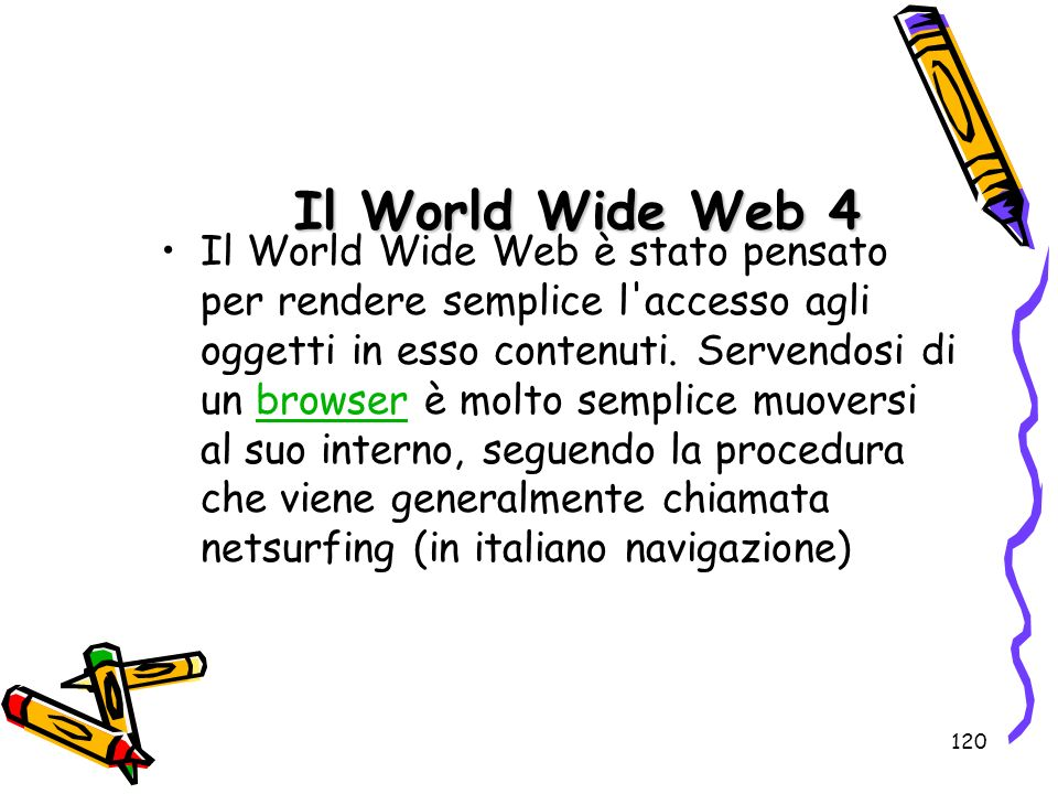 Il World Wide Web 4