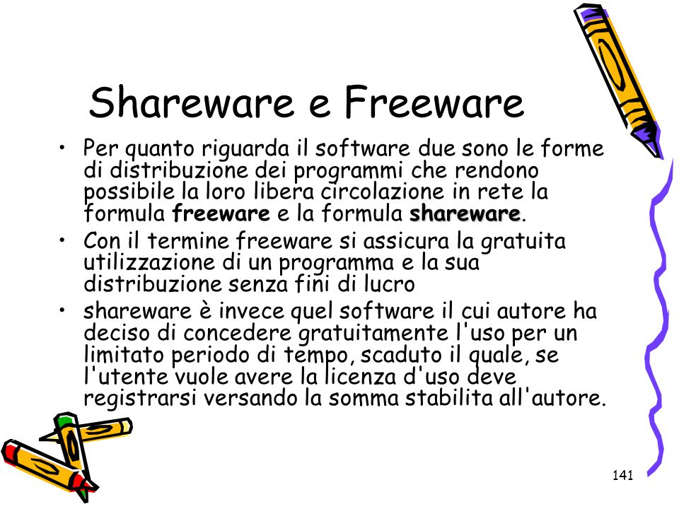 Shareware e Freeware