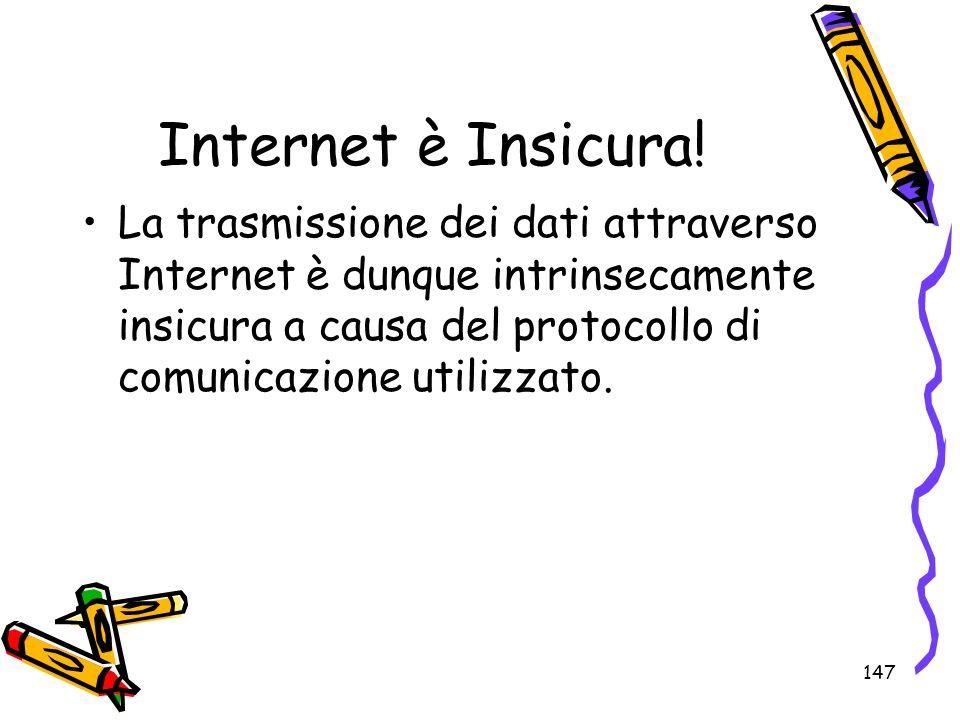 Internet è Insicura!