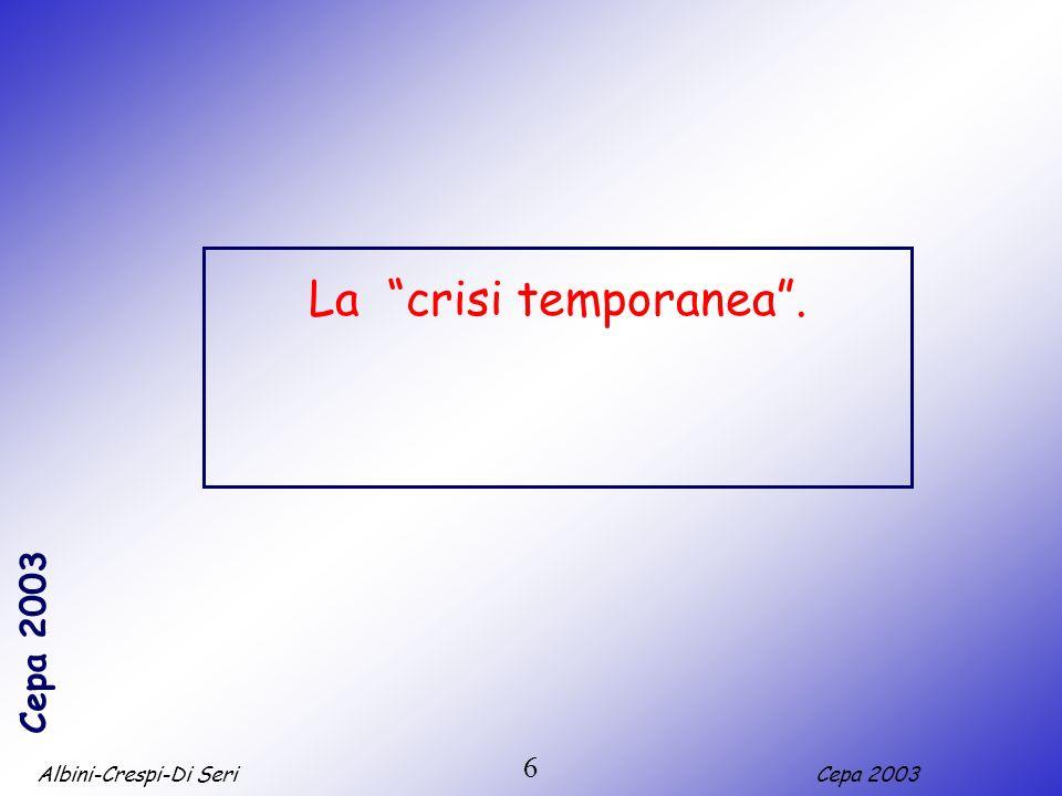 La crisi temporanea . 6