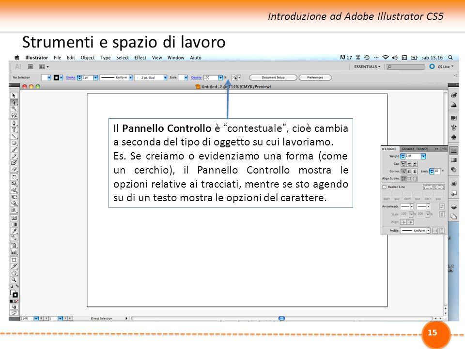 La barra degli strumenti (CS5): v. anche http://help. adobe