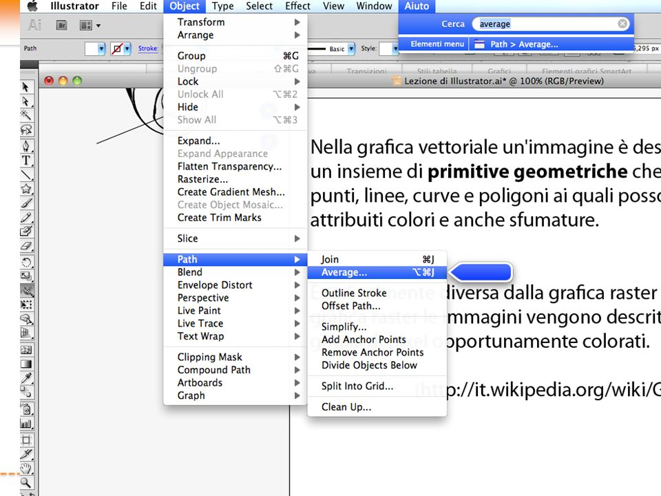 Lo strumento PENNA Lo strumento Penna è lo strumento principale di Illustrator…