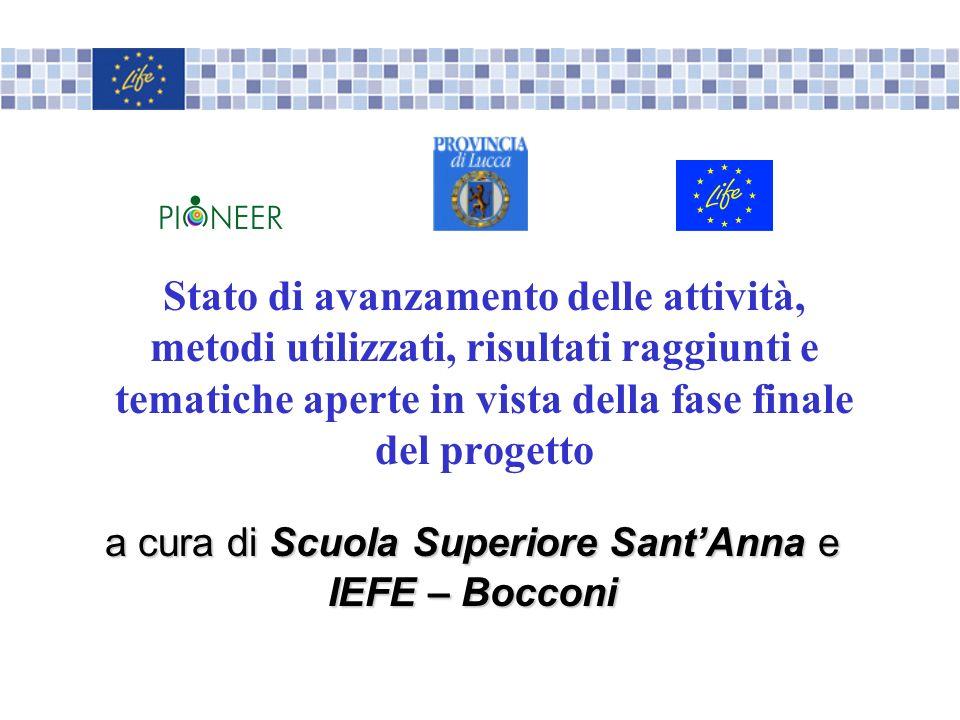a cura di Scuola Superiore Sant'Anna e IEFE – Bocconi
