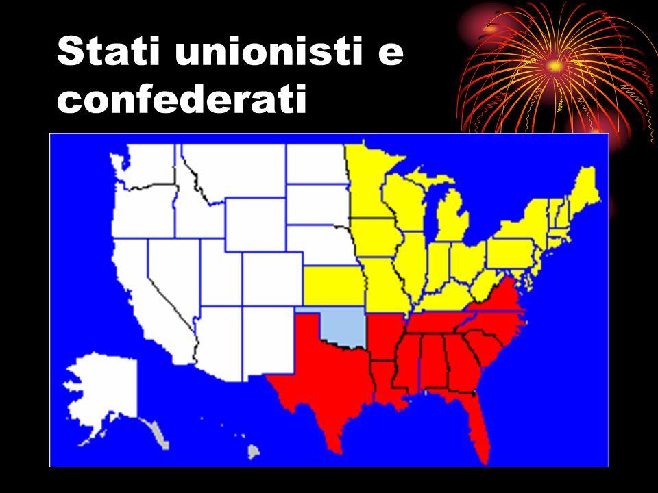 Stati unionisti e confederati