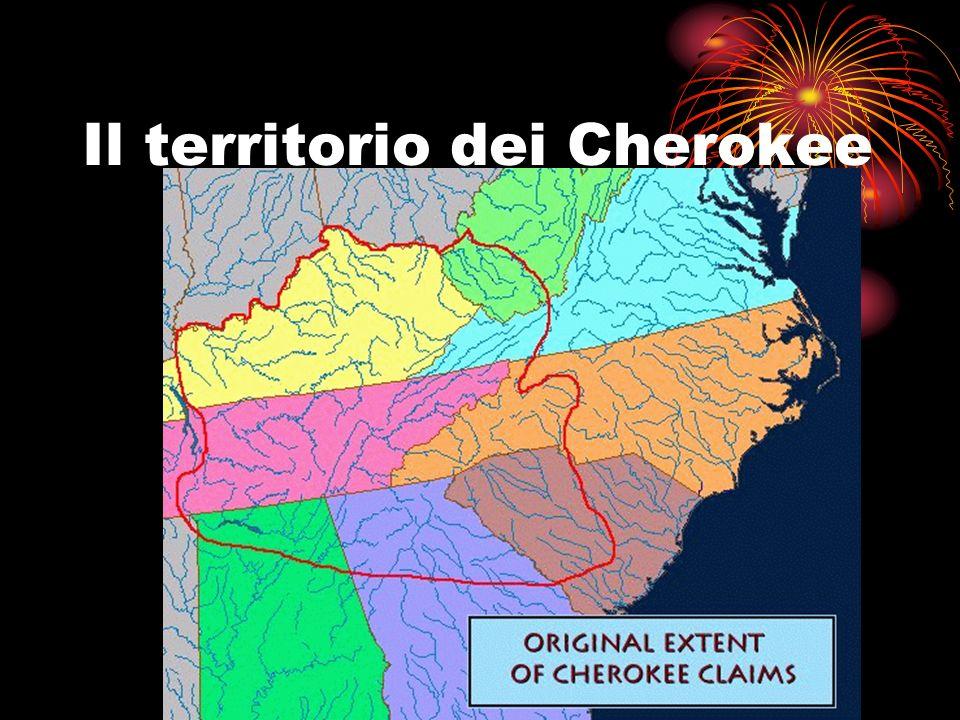 Il territorio dei Cherokee
