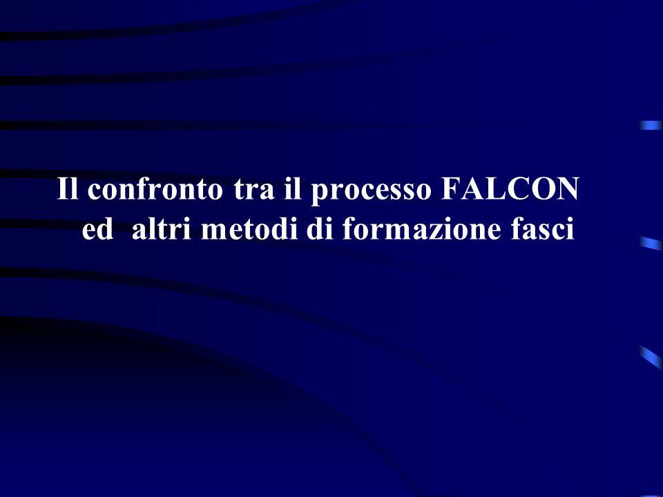 Il confronto tra il processo FALCON ed altri metodi di formazione fasci