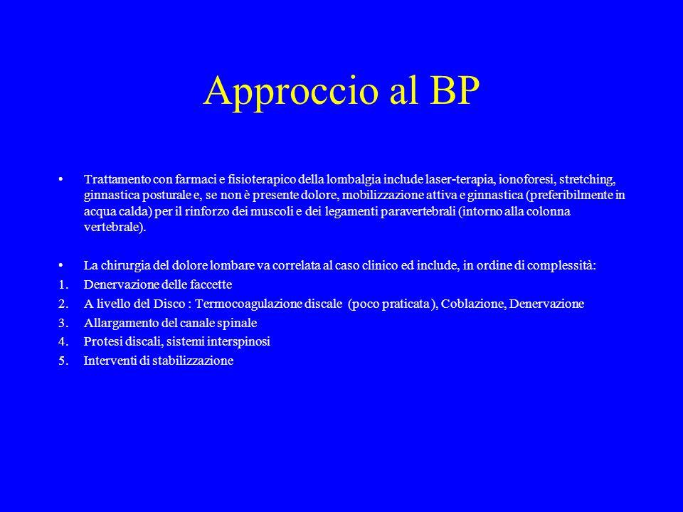 Approccio al BP