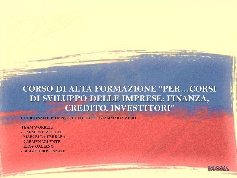 CORSO DI ALTA FORMAZIONE PER…CORSI DI SVILUPPO DELLE IMPRESE: FINANZA, CREDITO, INVESTITORI