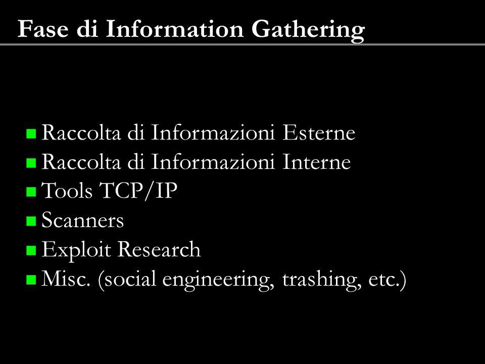 Fase di Information Gathering