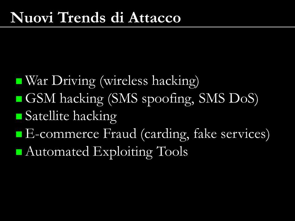 Nuovi Trends di Attacco