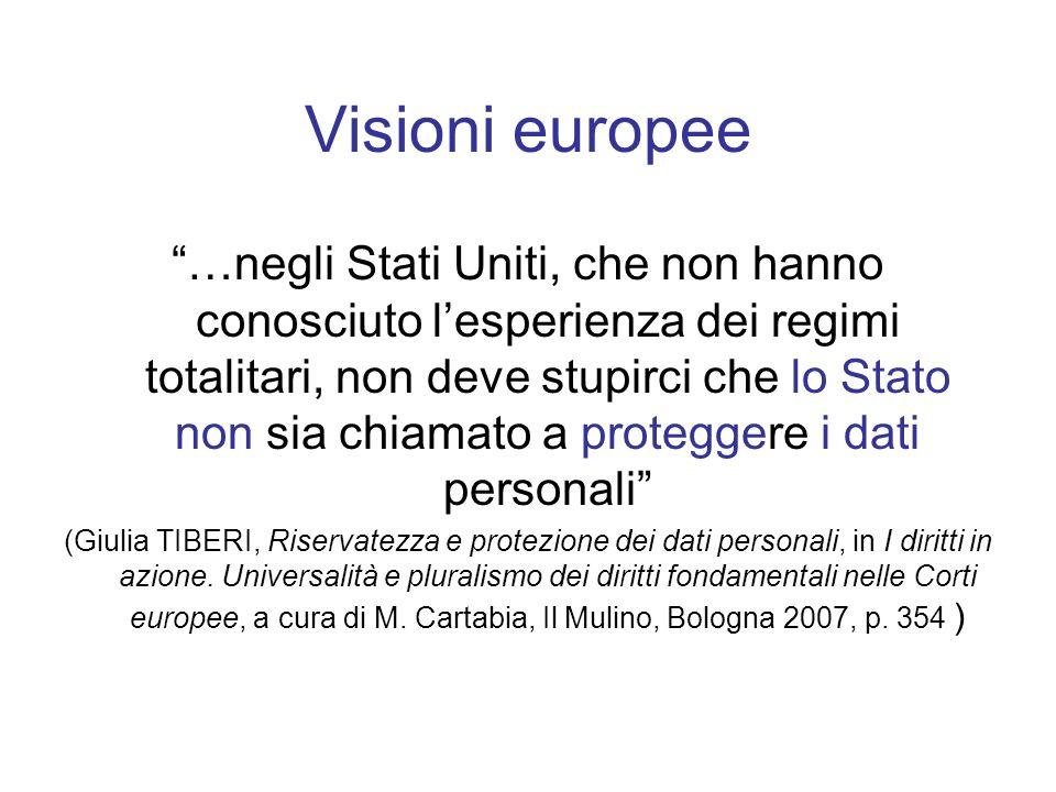 Visioni europee