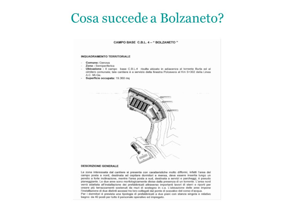 Cosa succede a Bolzaneto