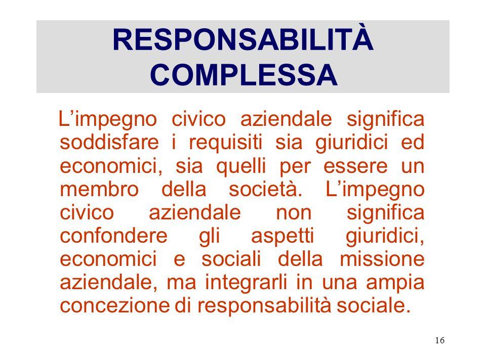RESPONSABILITÀ COMPLESSA