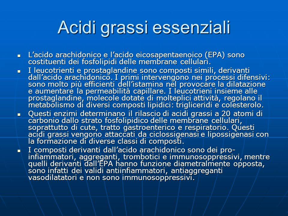 Acidi grassi essenziali