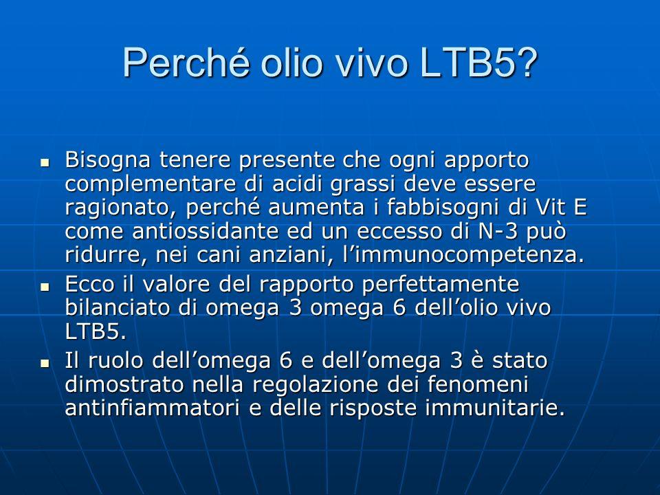 Perché olio vivo LTB5