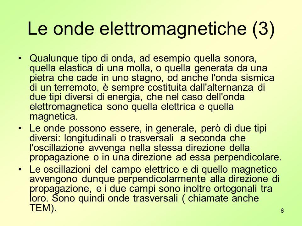 Le onde elettromagnetiche (3)