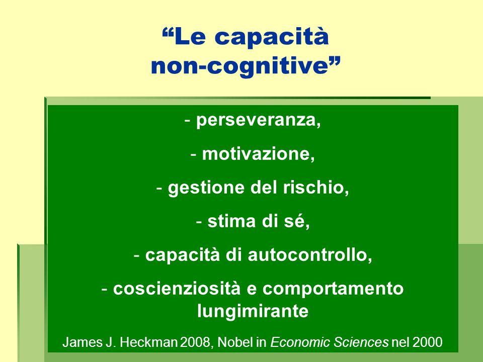 Le capacità non-cognitive