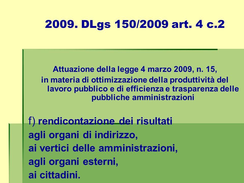 Attuazione della legge 4 marzo 2009, n. 15,