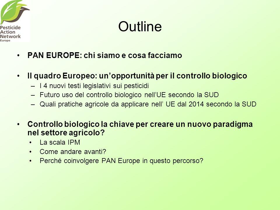 Outline PAN EUROPE: chi siamo e cosa facciamo