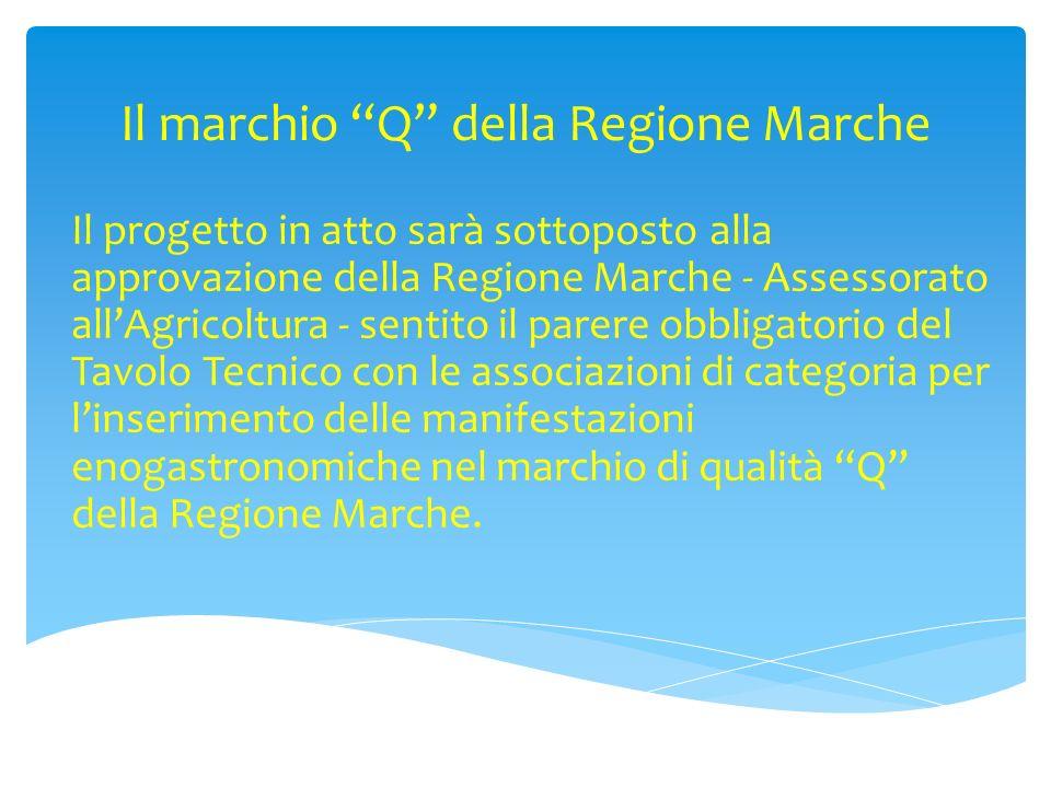 Il marchio Q della Regione Marche