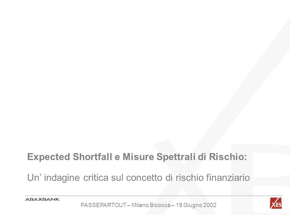 PASSEPARTOUT – Milano Bicocca – 18 Giugno 2002
