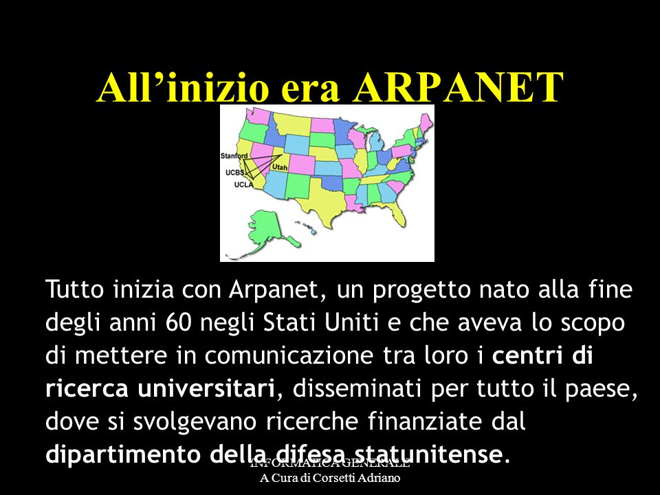 All'inizio era ARPANET