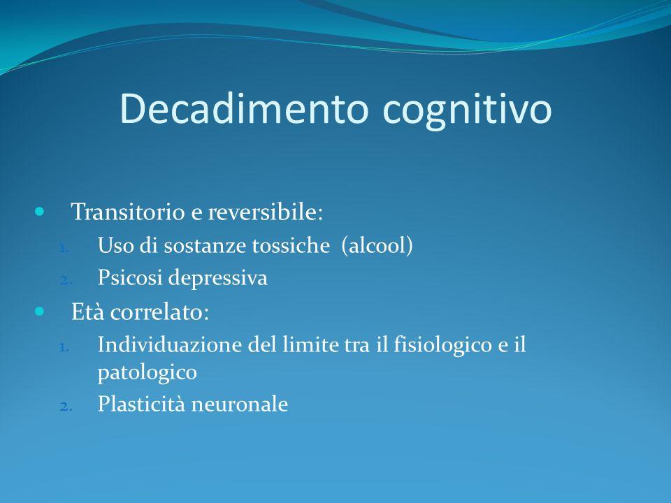 Decadimento cognitivo