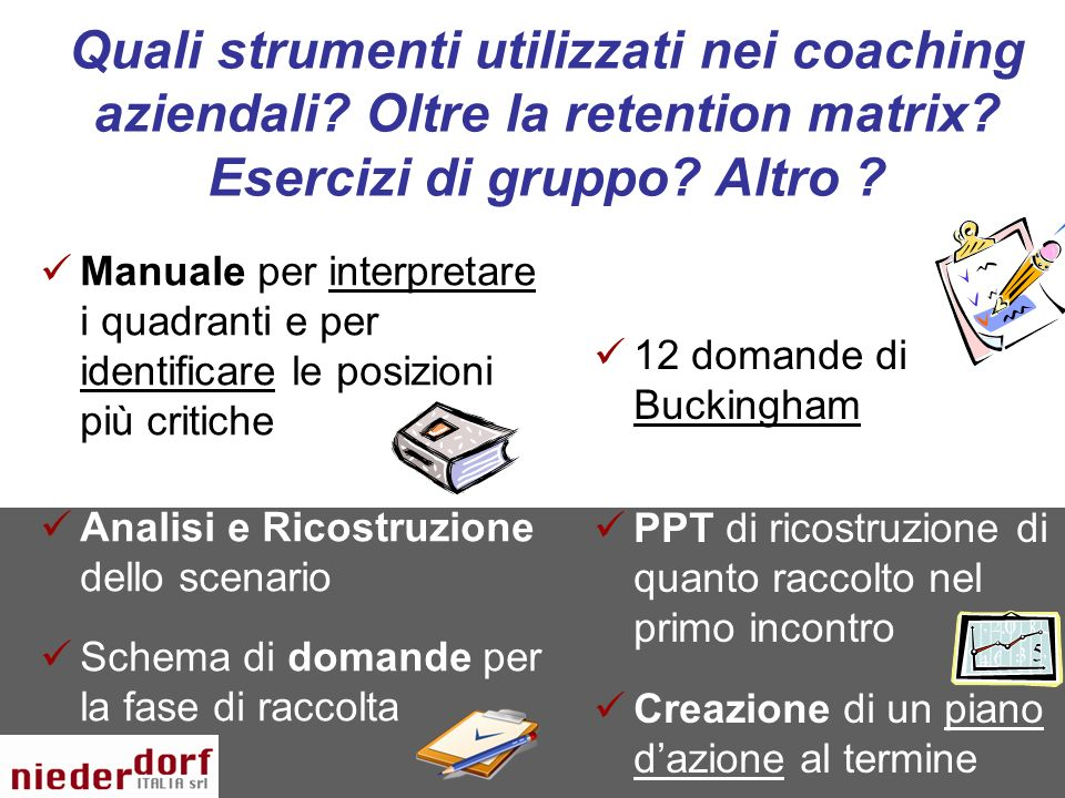 Quali strumenti utilizzati nei coaching aziendali