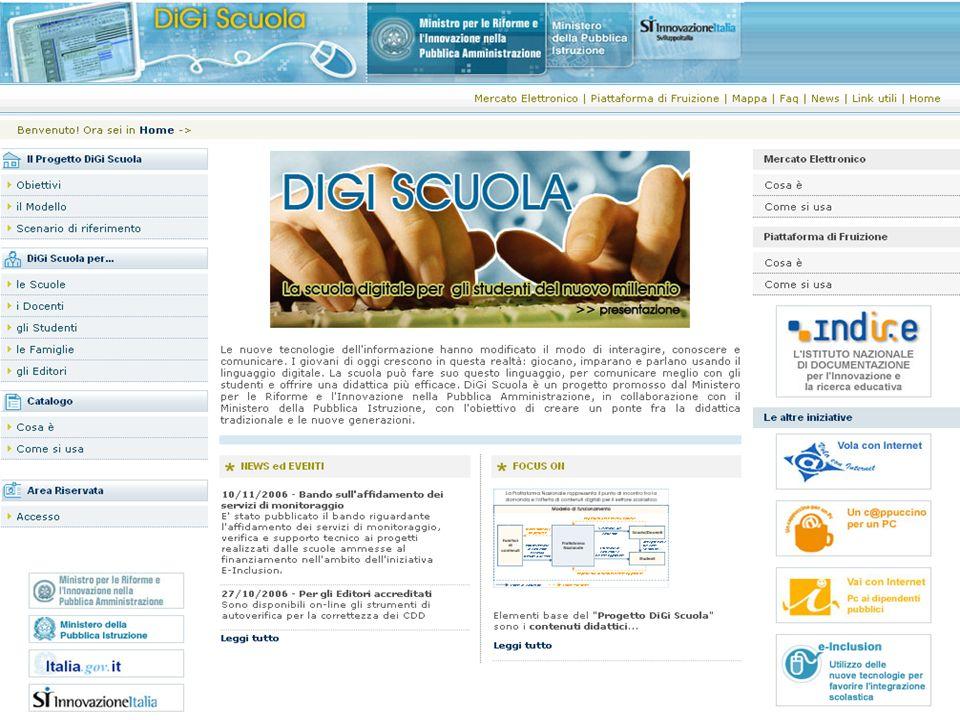 Inserire una descrizione (magari slide) di quali sono le parti: portale, mercato elettronico, Ambiente di fruizione IWT