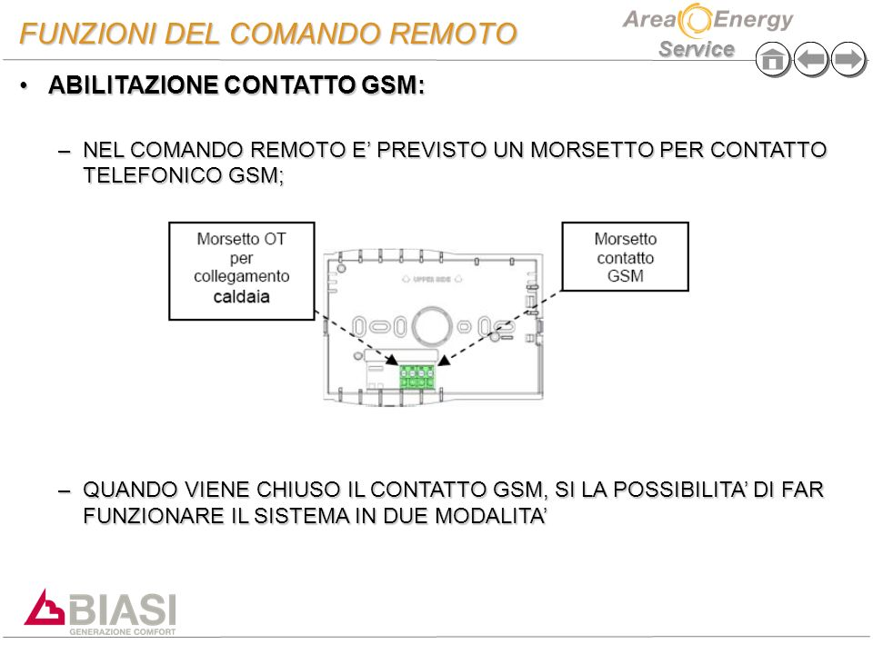 Nuovo Comando Remoto Biasi Ppt Video Online Scaricare