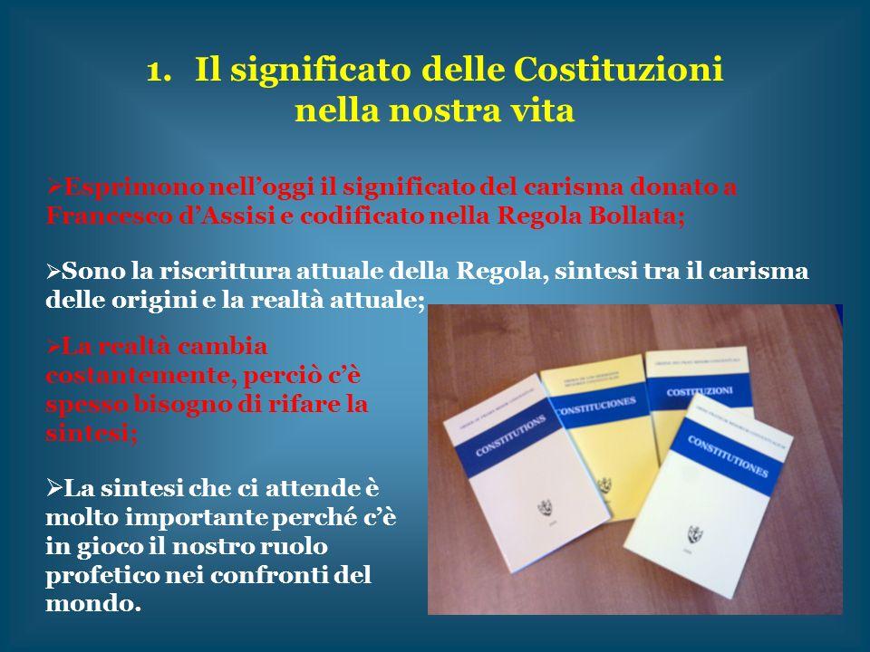 Il significato delle Costituzioni