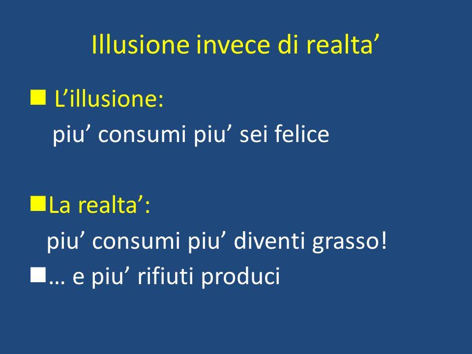 Illusione invece di realta'