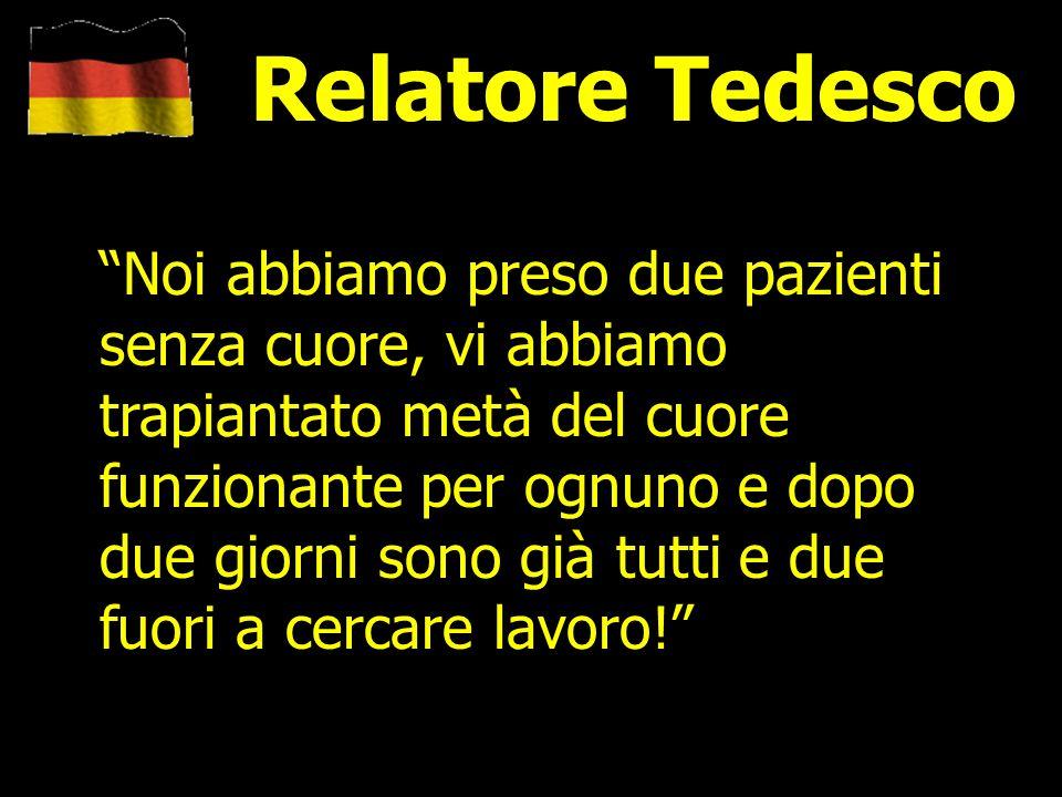 Relatore Tedesco