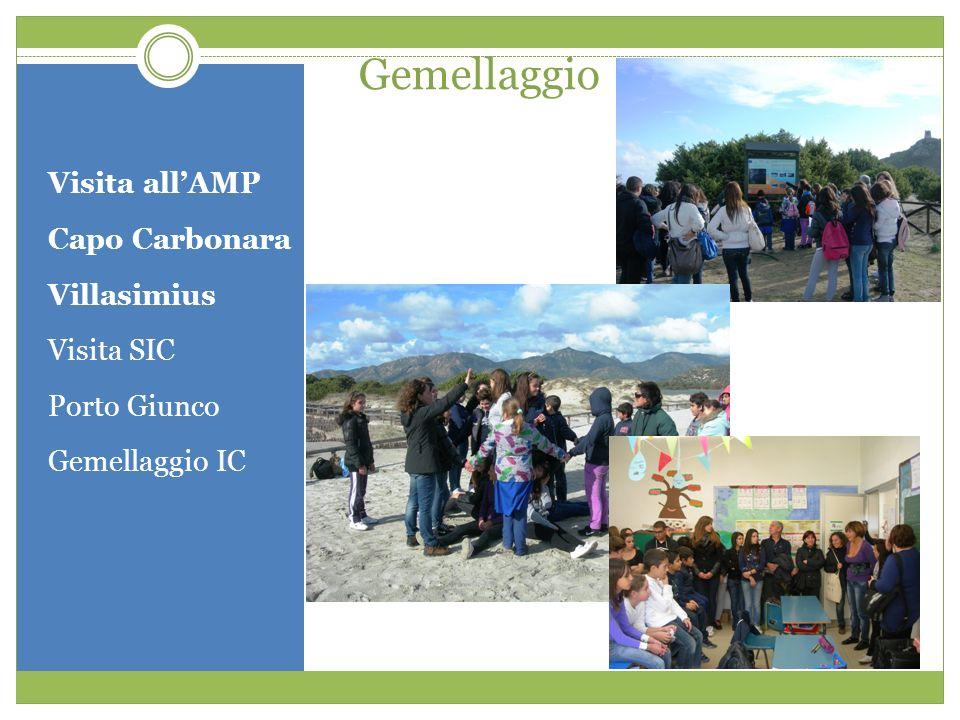 Gemellaggio Visita all'AMP Capo Carbonara Villasimius Visita SIC