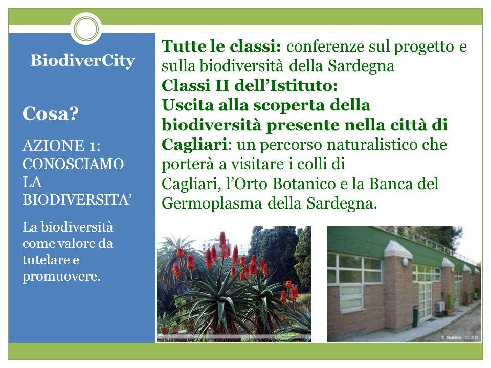 Tutte le classi: conferenze sul progetto e sulla biodiversità della Sardegna