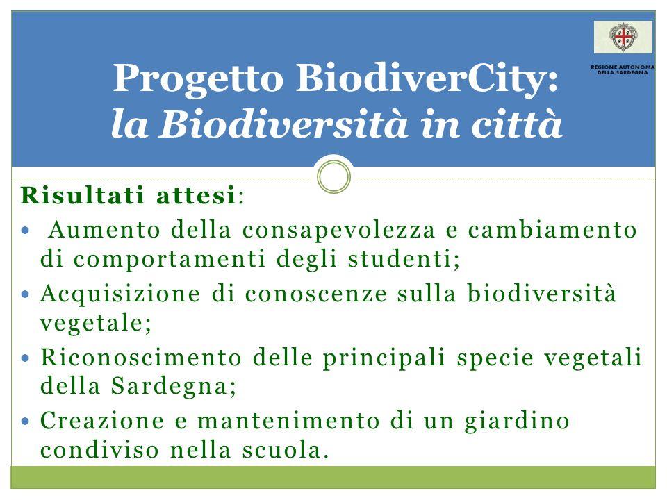 Progetto BiodiverCity: la Biodiversità in città