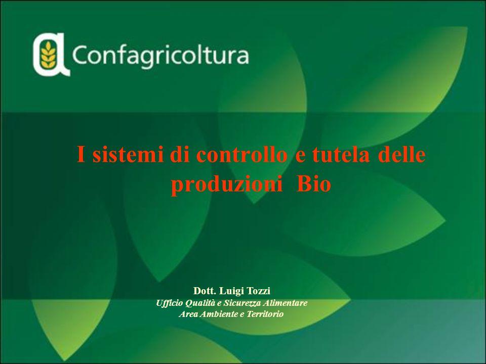 I sistemi di controllo e tutela delle produzioni Bio