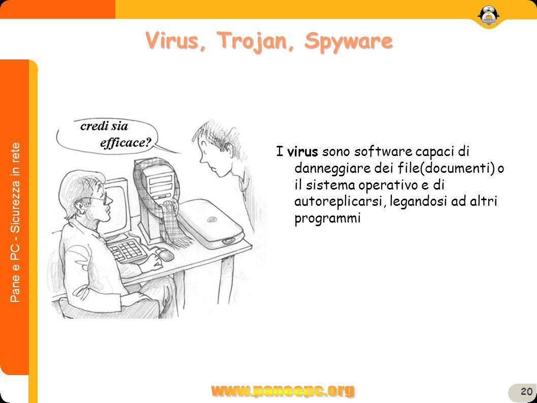Virus, Trojan, Spyware
