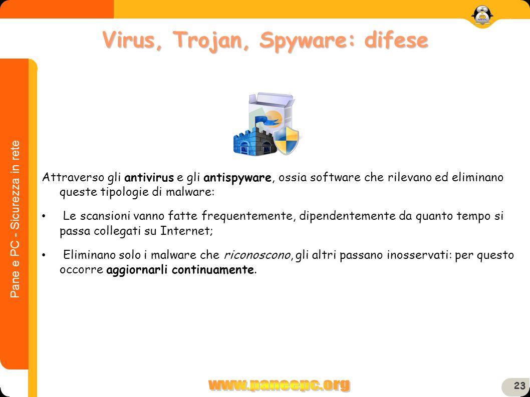 Virus, Trojan, Spyware: difese