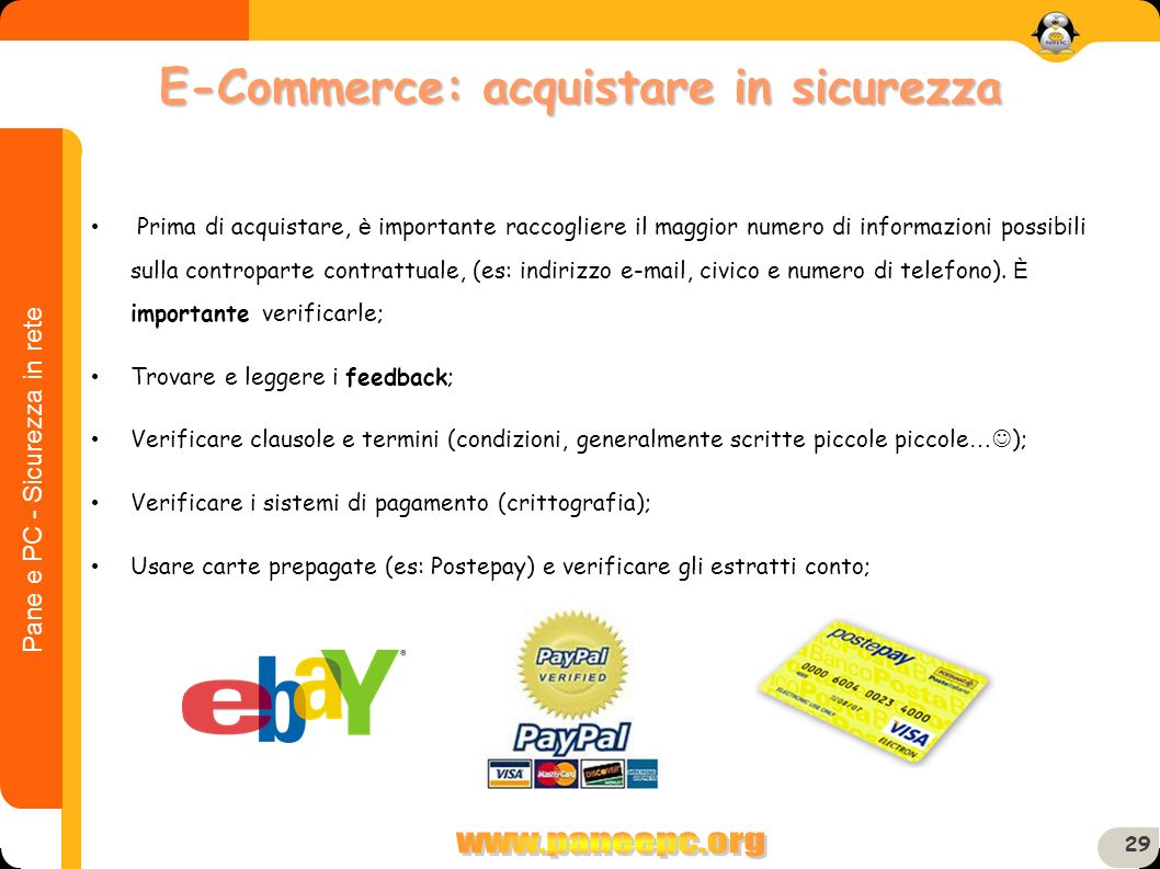 E-Commerce: acquistare in sicurezza